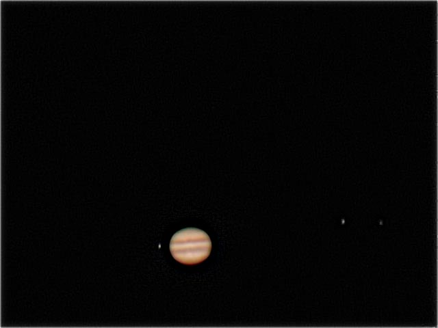 Jupiter, io, Europa and Ganymede 