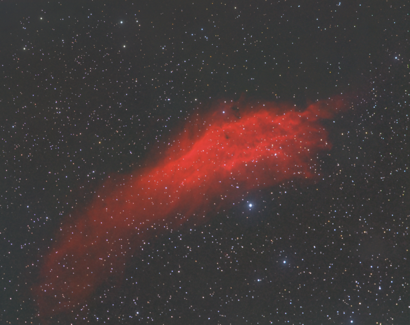 California nebula NGC1499