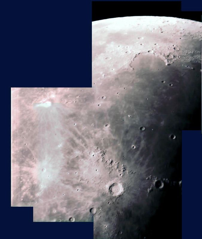 Moon Mosaic (first 6 images) 