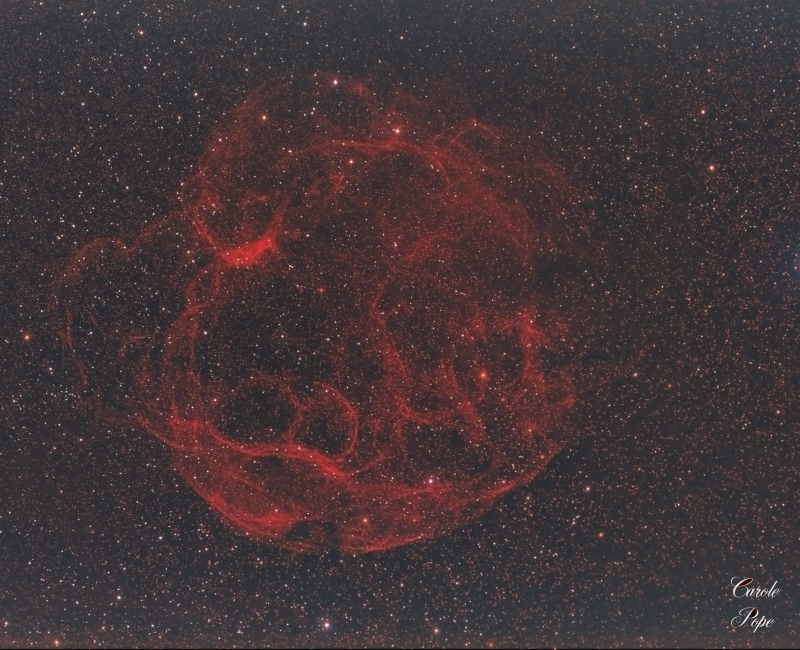 Simeis 147 (AKA the Spaghetti Nebula)