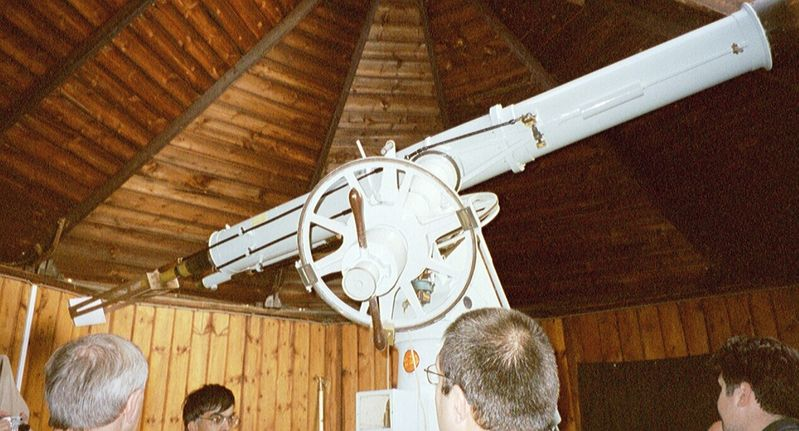 The Thorrowgood 8-inch Cooke refractor at Cambridge